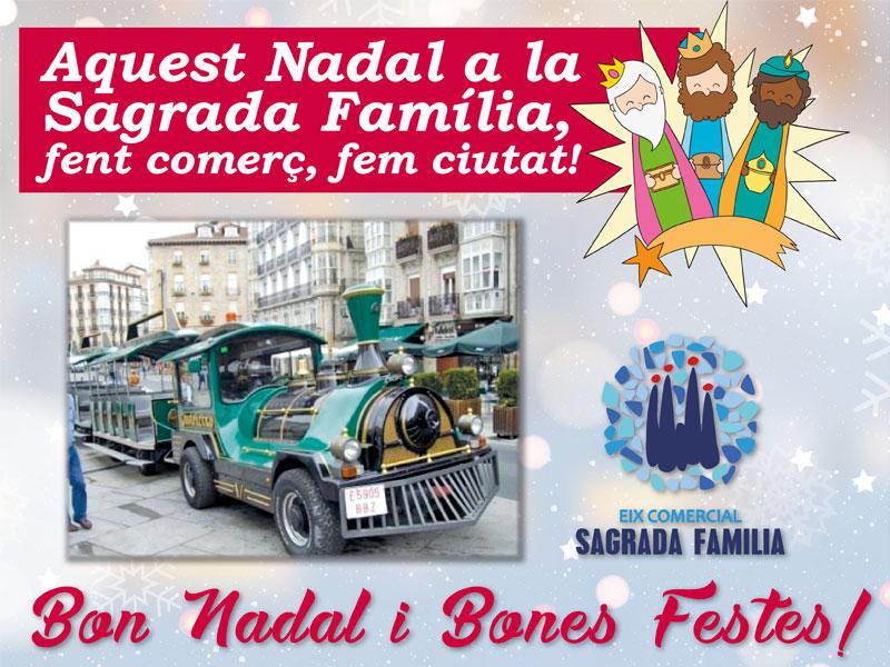 Imagenes Sagrada Familia Navidad.Esta Navidad En La Sagrada Familia Subete Al Trenecito