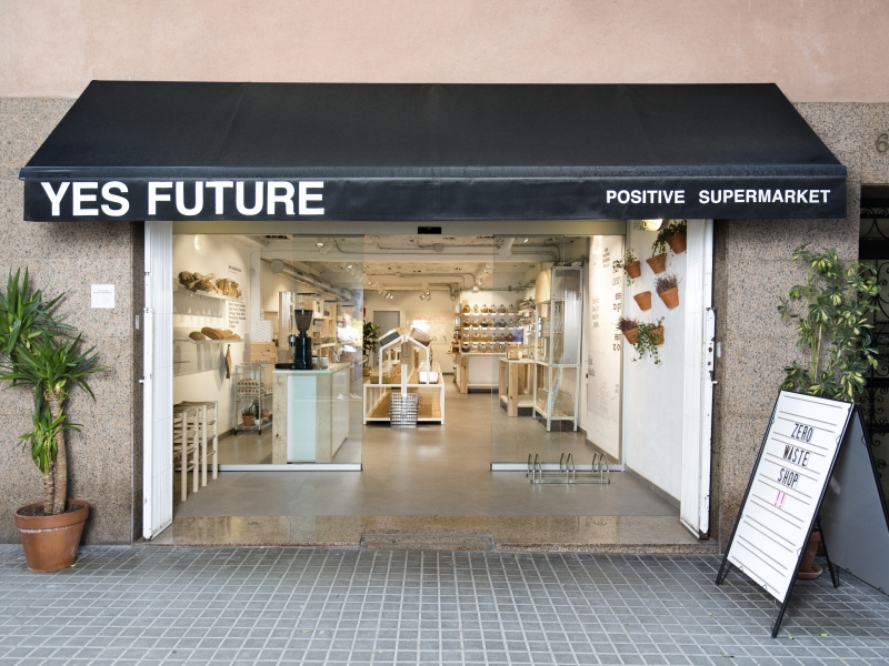 "Yes Future, el primer supermercat ""zero waste"" de Barcelona"