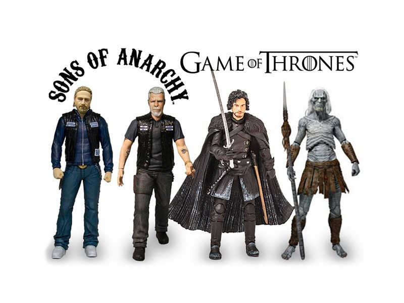 50% Dte. figures Games of Thrones I Samcro