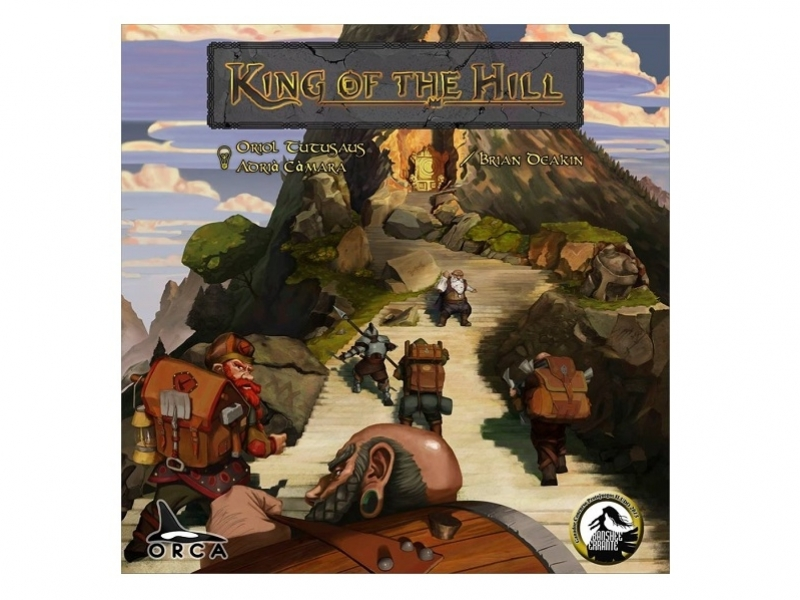 KING OF THE HILL, el joc de taula 34,95 €