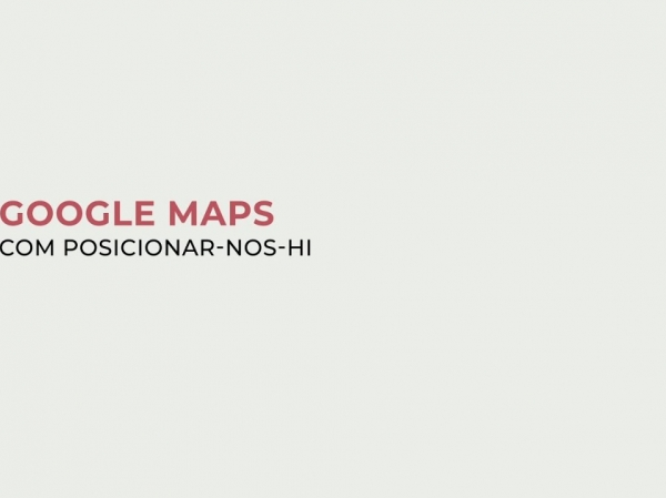 Posicionament Google Maps